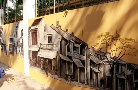 Ngắm tuyệt phẩm có một không hai trên con phố lãng mạn nhất Hà Nội