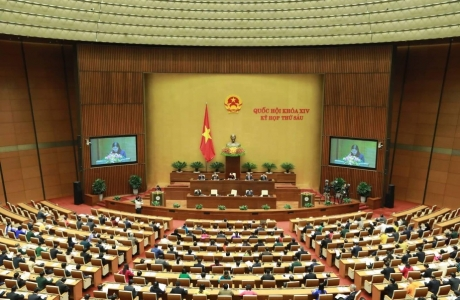 Quốc hội họp phiên bế mạc kỳ họp thứ 6, Quốc hội khóa XIV