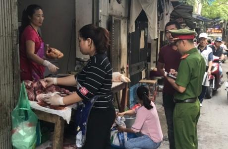 Phường Ô Chợ Dừa: Thực hiện quyết liệt công tác TTĐT, TTATGT trên địa bàn