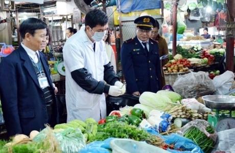Thí điểm triển khai thanh tra chuyên ngành an toàn thực phẩm