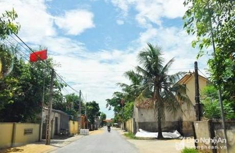 Nam Đàn được thí điểm trở thành huyện nông thôn mới kiểu mẫu