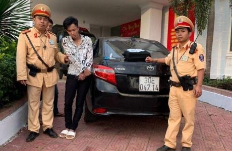 Bắt giữ tài xế ô tô