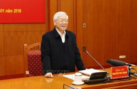 Tổng Bí thư, Chủ tịch nước chủ trì Phiên họp thứ 15 của Ban Chỉ đạo Trung ương về phòng, chống tham nhũng