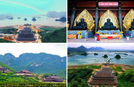 Ngắm vẻ đẹp chùa Tam Chúc – Ngôi chùa lớn nhất thế giới ở Hà Nam