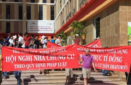 """TP Hồ Chí Minh: Đau đầu """"hạ nhiệt"""" tranh chấp chung cư"""