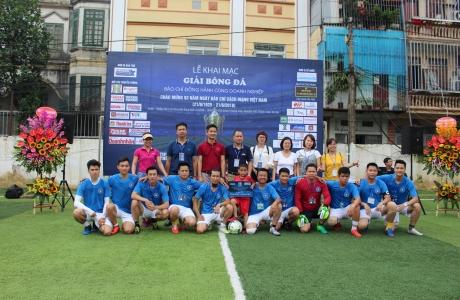 Giải bóng đá Báo chí đồng hành cùng Doanh nghiệp lần II năm 2019