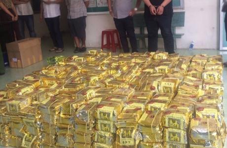 Hơn 1,1 tấn ma túy bị Công an TP HCM bắt giữ