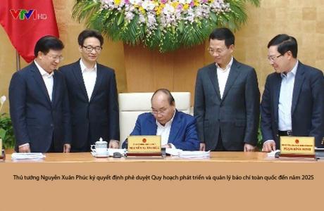 Thủ tướng ký phê duyệt quy hoạch báo chí