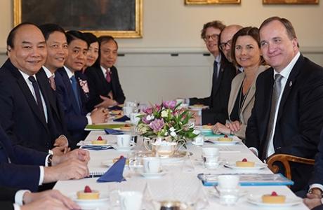 Thủ tướng Thụy Điển trao Ý định thư đầu tư hơn 2 tỷ USD vào Việt Nam