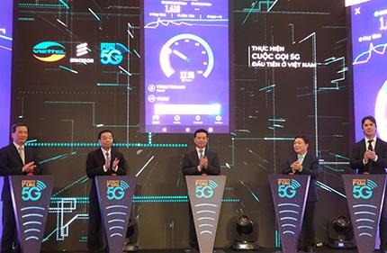 Thử nghiệm cuộc gọi 5G đầu tiên tại Việt Nam