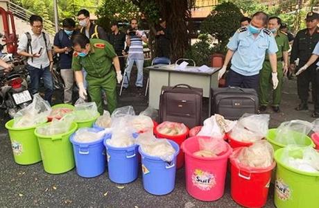 Kho ma túy Ketamin 500 tỷ ở Sài Gòn bị phát hiện thế nào