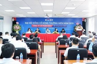Đại hội cổ đông Kosy: Chốt doanh thu năm 2019 đạt 1.500 tỷ đồng