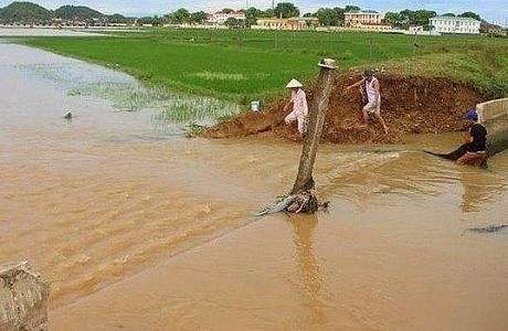 Sau hạn hán, Nghệ An lại đối mặt với lũ lụt