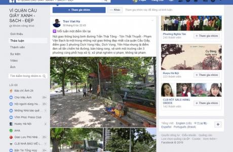 Quản lý trật tự đô thị qua mạng xã hội: Hiệu quả nhiều mặt