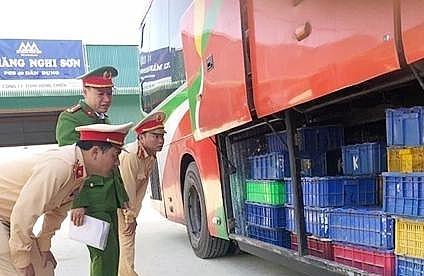 Hà Tĩnh: Bắt giữ hơn 5 tấn động vật hoang dã trên xe khách