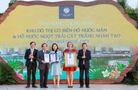Vinhomes Ocean Park đạt kỷ lục Thế giới
