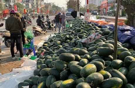 Bộ Công Thương khuyến cáo hạn chế đưa nông sản lên biên giới Trung Quốc