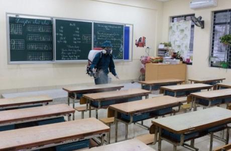 Hà Nội: Các trường học vệ sinh, khử trùng để phòng dịch nCoV