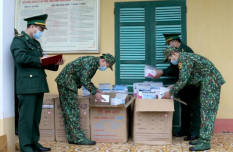 Lạng Sơn: Thu giữ hơn 20.000 chiếc khẩu trang sắp bị chuyển qua biên giới