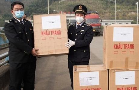 Việt Nam viện trợ Trung Quốc hơn 11,6 tỷ đồng tiền hàng hóa, vật dụng y tế