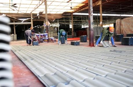 Tân Kỳ - Nghệ An: Nhiều cơ sở sản xuất vật liệu không nung - Vừa hoạt động chui vừa gây ô nhiễm