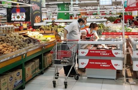 Thị trường hàng hóa thực phẩm ổn định, công tác phòng dịch được nâng cao