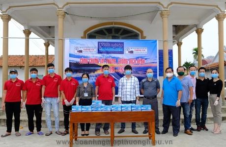 Hợp tác xã vận tải và du lịch Thành Tin (Quỳnh Liên – Hoàng Mai – Nghệ An) chung tay phòng, chống dịch bệnh Covid-19