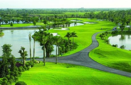 """""""Bóng"""" Geleximco tại dự án sân golf Vân Tảo 66ha"""