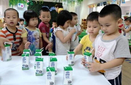 TP.HCM đề xuất tiếp tục triển khai chương trình Sữa học đường