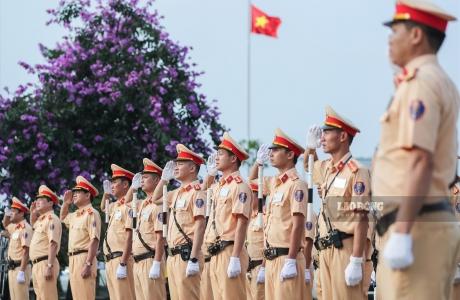 Sáng nay, CSGT cả nước ra quân tổng kiểm soát phương tiện