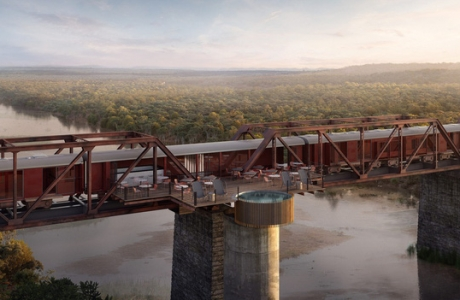 Khách sạn xa hoa nằm trên đường ray tàu hỏa sắp khai trương vào cuối năm 2020: Có giá tận 11 triệu đồng chỉ cho một đêm!