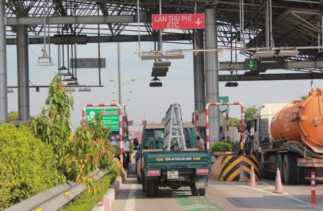 Chính thức thu phí không dừng cao tốc Pháp Vân - Ninh Bình