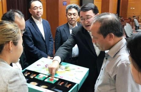 Chủ tịch Tập đoàn CJ muốn lập trung tâm nghiên cứu gạo Việt Nam