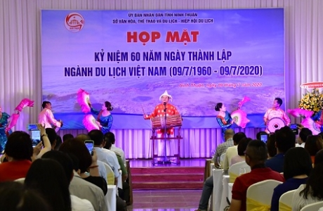 Ninh Thuận: Họp mặt kỷ niệm 60 năm Ngày thành lập ngành du lịch Việt Nam