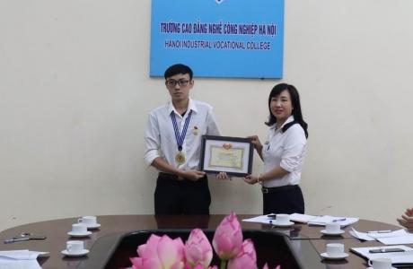 Sinh viên trường Cao đẳng nghề Công nghiệp Hà Nội đạt giải nhất vòng chung kết quốc gia cuộc thi vô địch thiết kế đồ họa thế giới – ACAWC 2020