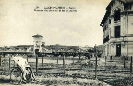 Ghé trạm hỏa xa hơn trăm tuổi ở Sài Gòn