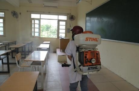 Thi tốt nghiệp THPT ở Hà Nội: Toàn bộ các điểm thi sẽ được khử khuẩn, sẵn sàng đón thí sinh