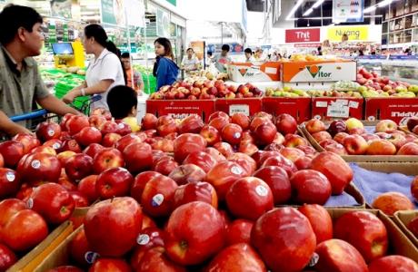 Nhiều loại rau quả Trung Quốc trong nhóm nguy cơ rủi ro rất cao