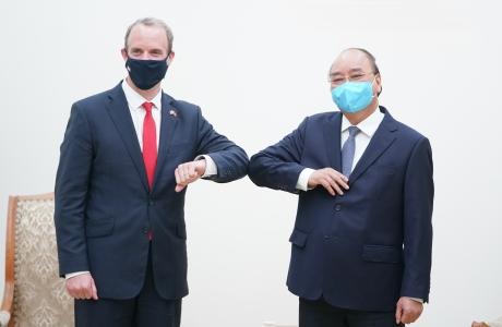 Thủ tướng Nguyễn Xuân Phúc: Việt Nam luôn coi Anh là đối tác hàng đầu