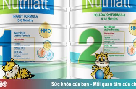 Phát hiện sữa Nutrilatt đang bán ở Việt Nam có hàm lượng sắt, kẽm thấp hơn quy định
