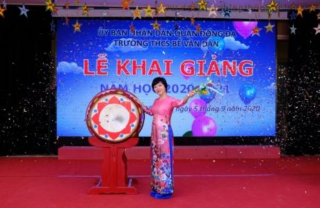 Trường THCS Bế Văn Đàn (Đống Đa – Hà Nội) đón chào năm học mới 2020 – 2021