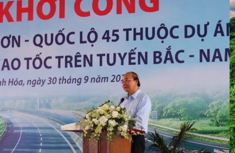 Thủ tướng: 'Nghèo cũng phải làm giao thông, khá cũng làm giao thông, càng giàu càng làm giao thông'