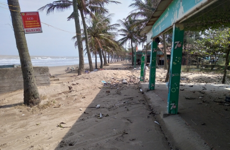 Cửa Lò: Thiệt hại ước tính 12 tỉ đồng do mưa bão