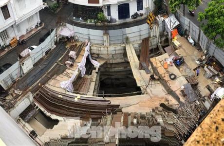 Hà Nội yêu cầu Sở Xây dựng vào cuộc vụ nhà riêng lẻ có 4 tầng hầm