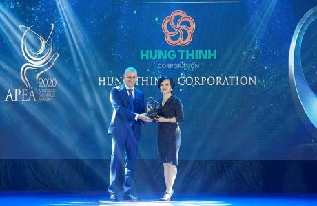 Tập đoàn Hưng Thịnh được vinh danh tại giải thưởng