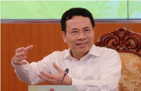 Bộ trưởng Nguyễn Mạnh Hùng yêu cầu ngành TT&TT đi đầu trong chuyển đổi số
