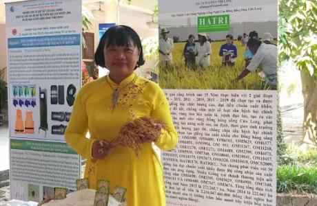 GS Nguyễn Thị Lang - Dành trọn vẹn tình yêu cho cây lúa