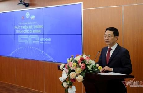 Toàn văn phát biểu của Bộ trưởng Nguyễn Mạnh Hùng tại Lễ ký kết hợp tác 5G giữa Viettel và Vingroup