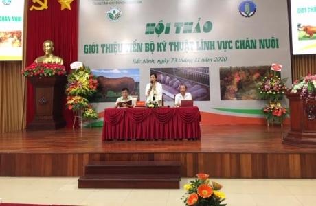 Giới thiệu tiến bộ kỹ thuật chăn nuôi với bà con tại Bắc Ninh