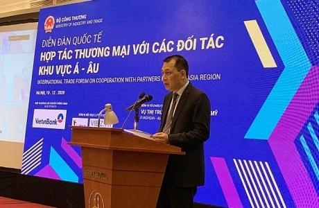 Hàng hoá Việt Nam còn nhiều 'dư địa' trên thị trường Á-Âu